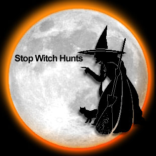 Stop Witch Hunts - FREE MARTHA STEWART